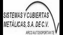 logo de Sistemas y Cubiertas Metalicas